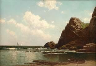 ALFRED THOMPSON BRICHER (American 1837-1908 ) A