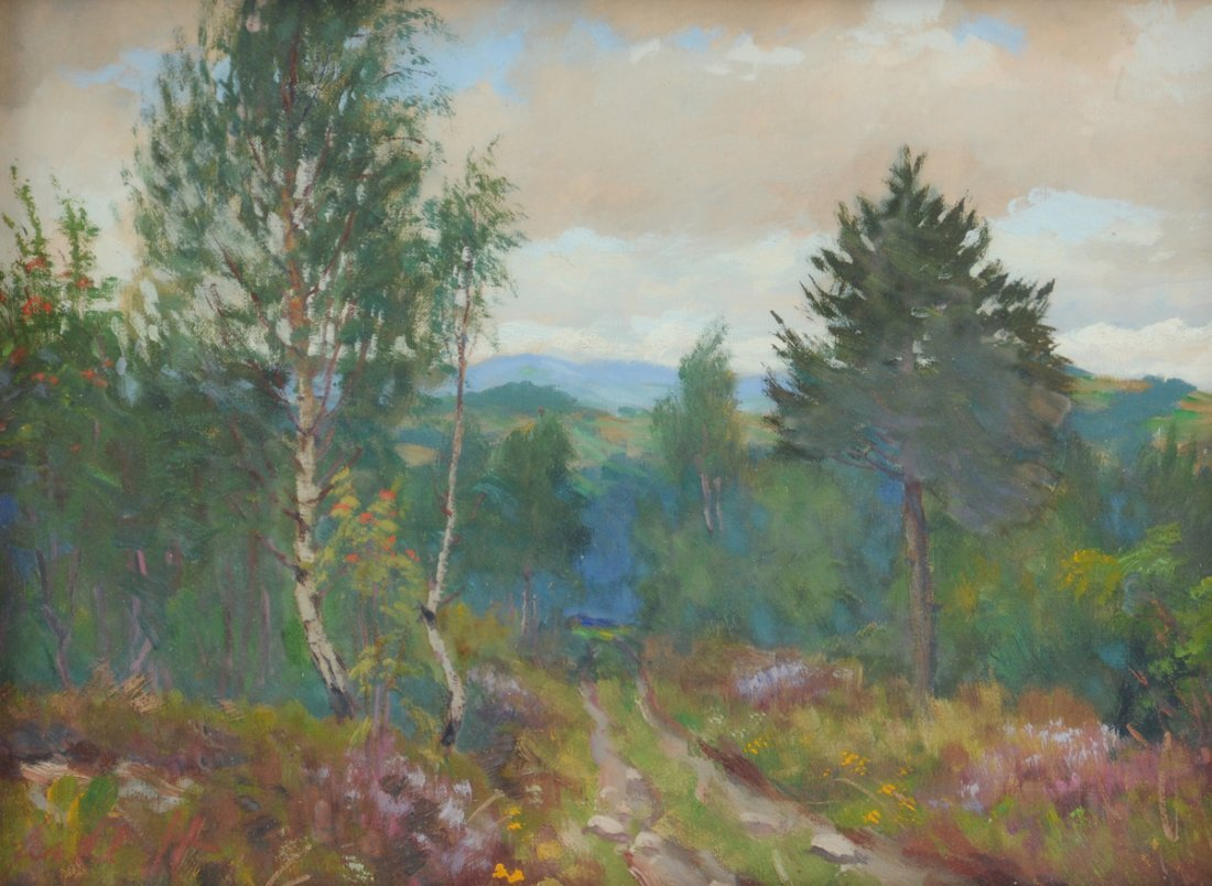 FRANTISEK DANEK-SEDLACEK (Czech 1892-1974) A PAINTING,