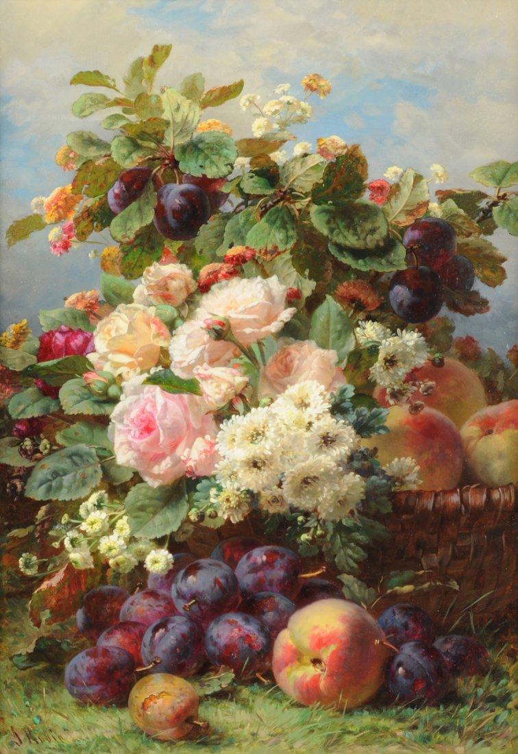 JEAN BAPTISTE ROBIE (Belgian 1821-1910) A PAINTING,