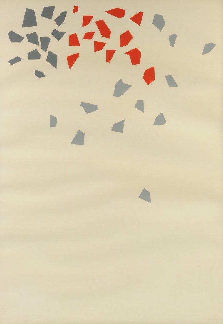 "ROBERT GOODNOUGH (American 1917-2010) A PRINT, ""One,"