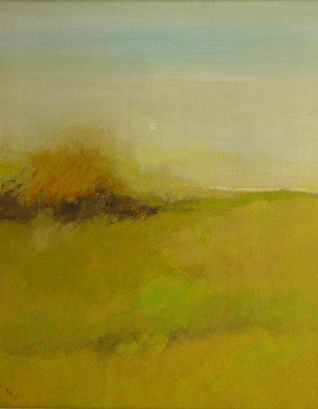 "5: LAMAR BRIGGS (American/Texas b. 1935) A painting, ""R"