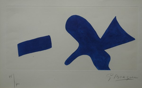 6: GEORGES BRAQUE (American 1882-1963) A limited editio