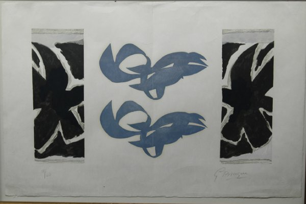 8: GEORGES BRAQUE (American 1882-1963) A limited editio