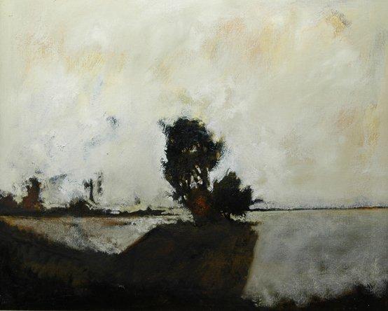 9: JOHN ALEXANDER (American/Texas b. 1945) A painting,