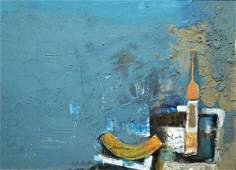 10 DAVID ADICKES AmericanTexas b 1927 A painting