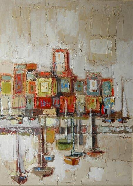 13: DAVID ADICKES (American/Texas b. 1927) A painting,