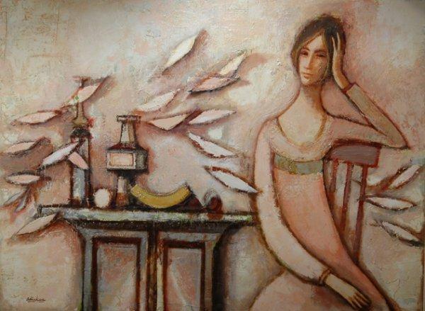 16: DAVID ADICKES (American/Texas b. 1927) A painting,