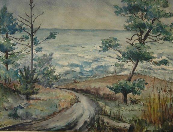 22: OLIVE MALSTROM CARL (American 1903 - 1988) A waterc