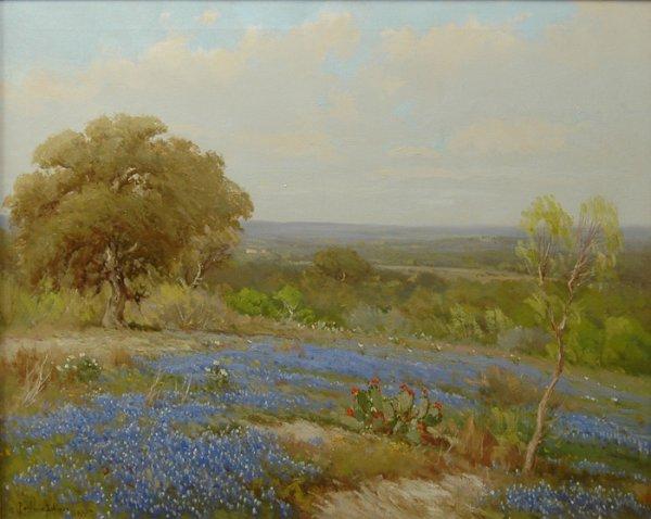 222: PORFIRIO SALINAS (American/Texas  1910-1973) A pai