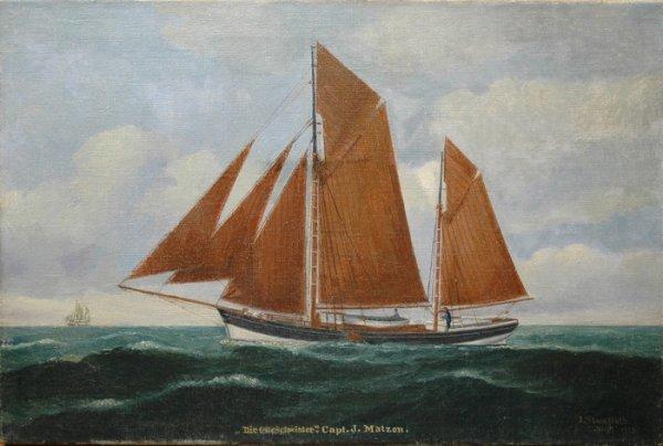 233: JULIUS STOCKFLETH (American 1857-1935)  A painting