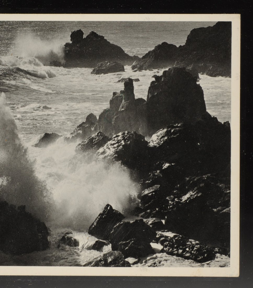 ANSEL ADAMS (American 1902-1984) A SIGNED POSTCARD, - 4