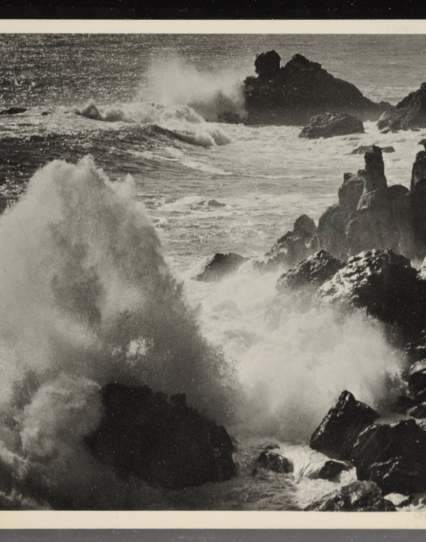 ANSEL ADAMS (American 1902-1984) A SIGNED POSTCARD, - 5