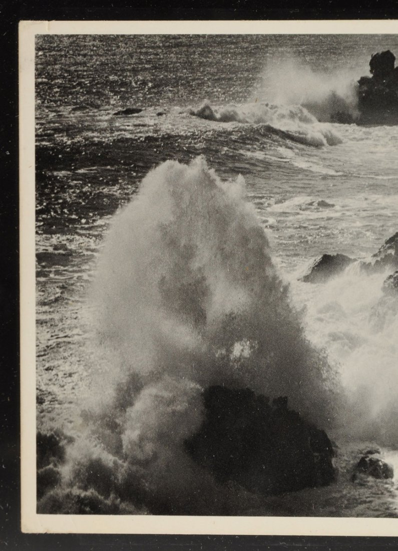 ANSEL ADAMS (American 1902-1984) A SIGNED POSTCARD, - 6