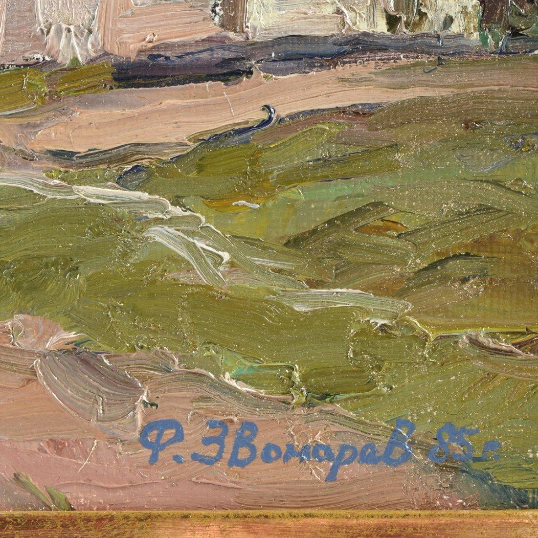 FYODOR ZVONAREV (Russian b. 1929) A PAINTING, - 3