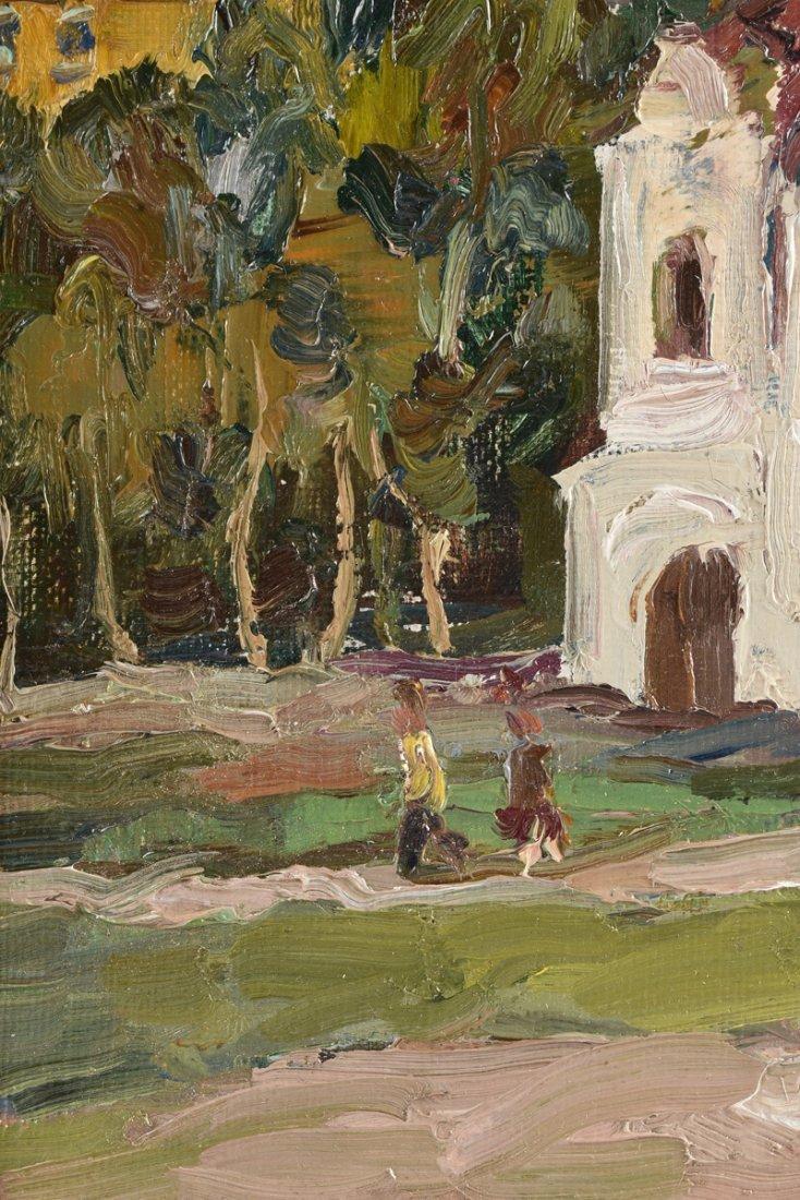 FYODOR ZVONAREV (Russian b. 1929) A PAINTING, - 5
