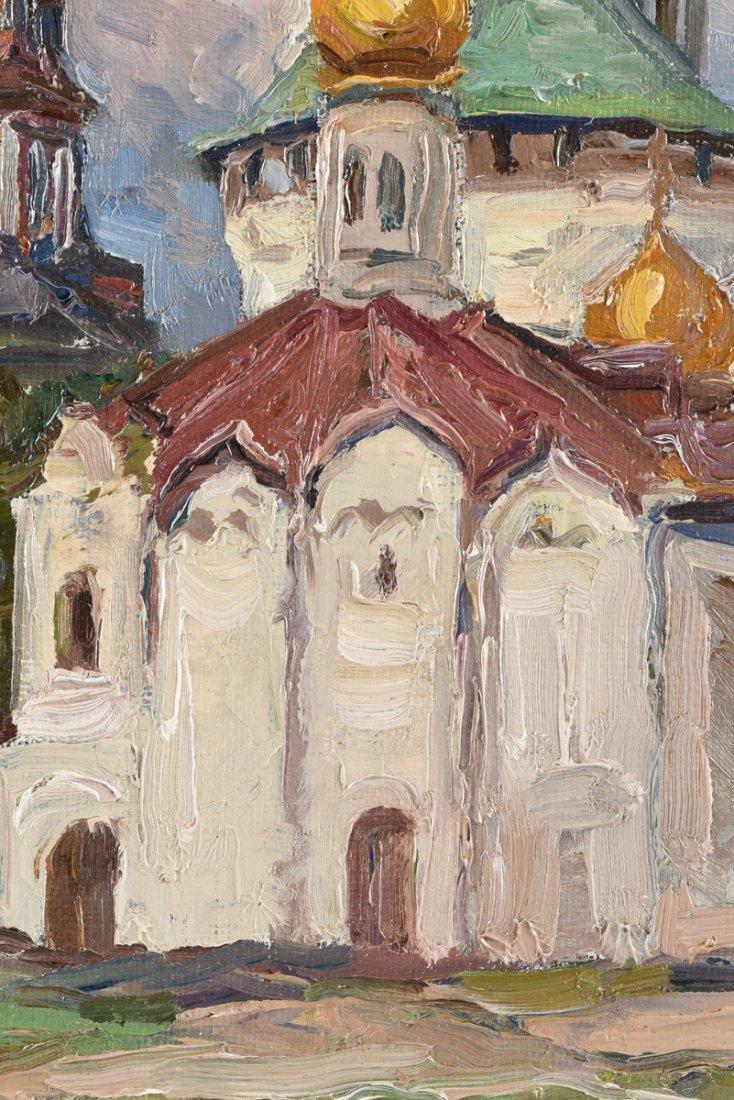 FYODOR ZVONAREV (Russian b. 1929) A PAINTING, - 6