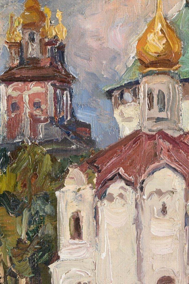 FYODOR ZVONAREV (Russian b. 1929) A PAINTING, - 9