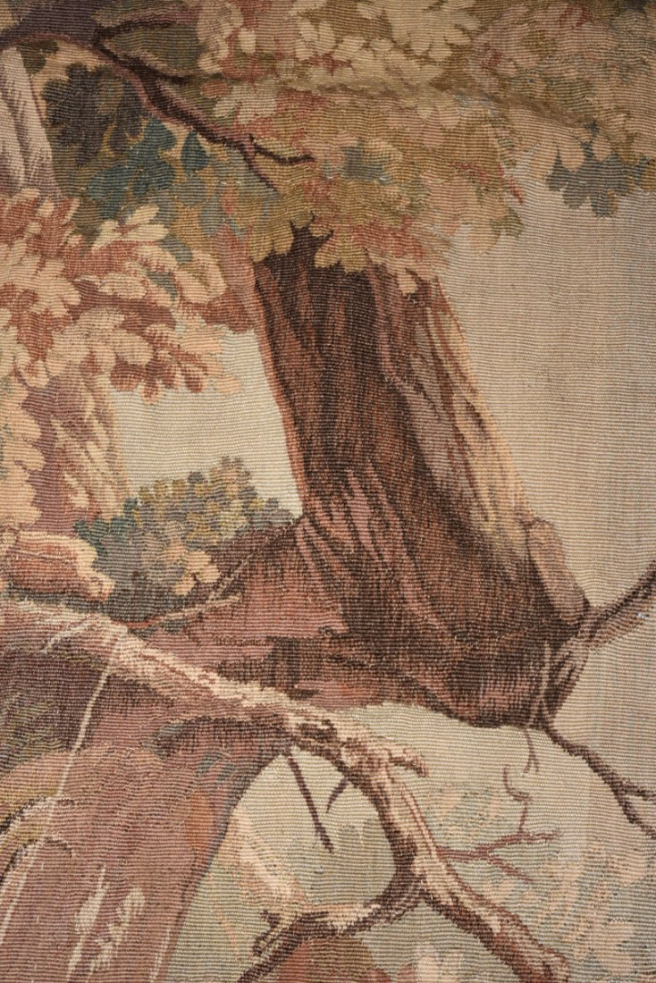 """A CONTINENTAL """"HUNT"""" SUBJECT WOVEN WOOL TAPESTRY, - 5"""