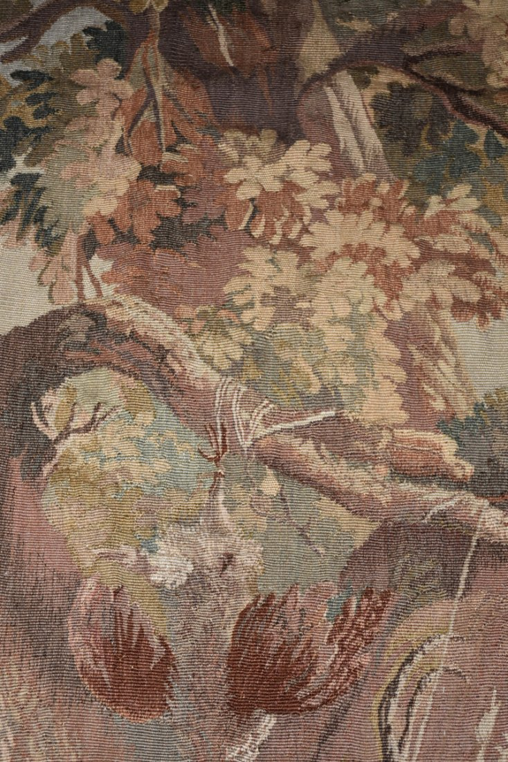 """A CONTINENTAL """"HUNT"""" SUBJECT WOVEN WOOL TAPESTRY, - 6"""