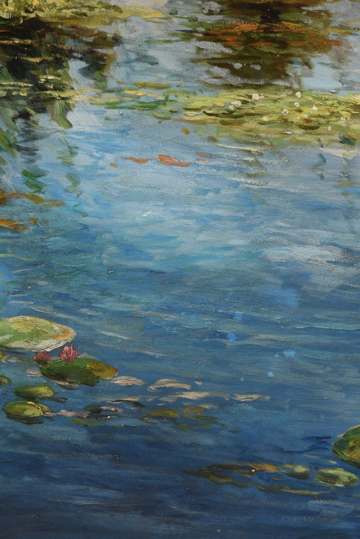 "A. LAURENT (American 20th Century) A PAINTING, ""Water - 10"