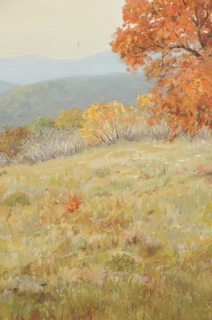 R. MOSELEY (American/Texas 20th Century) A PAINTING, - 7