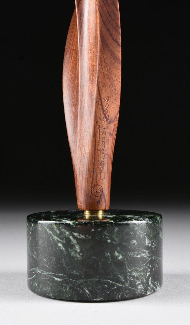 ROBERT LONGHURST (American b.1949) A CARVED BUBINGA - 7