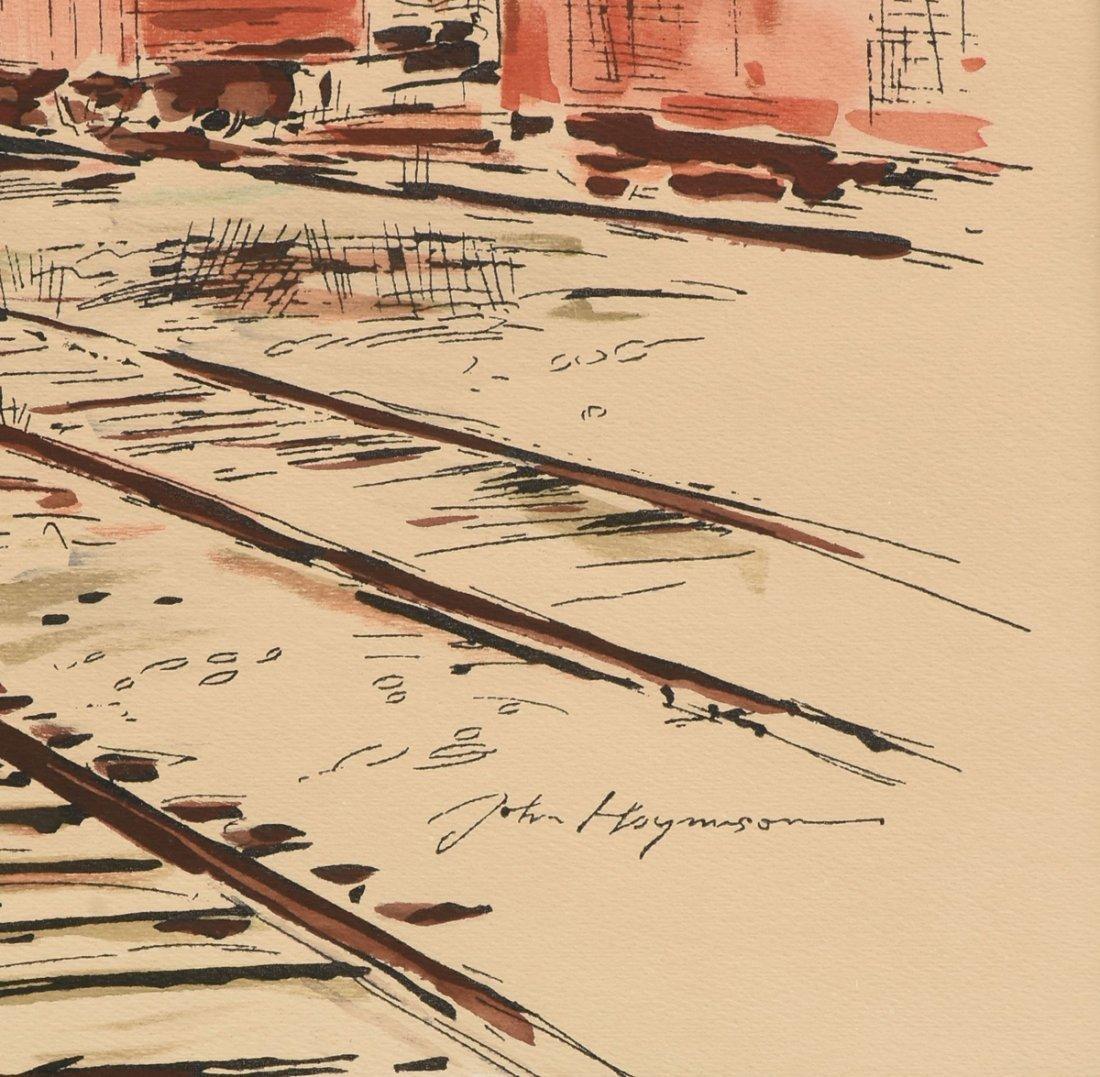 "JOHN HAYMSON (American 1903-1980) A PAINTING, ""The - 3"