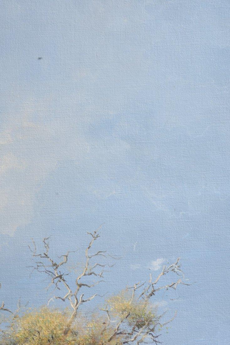 """JOHANN KOCH (South African b. 1948) A PAINTING, """"First - 10"""