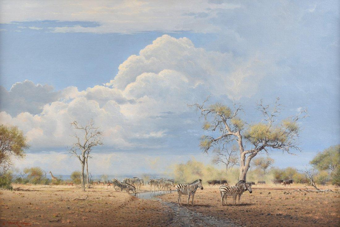 """JOHANN KOCH (South African b. 1948) A PAINTING, """"First"""