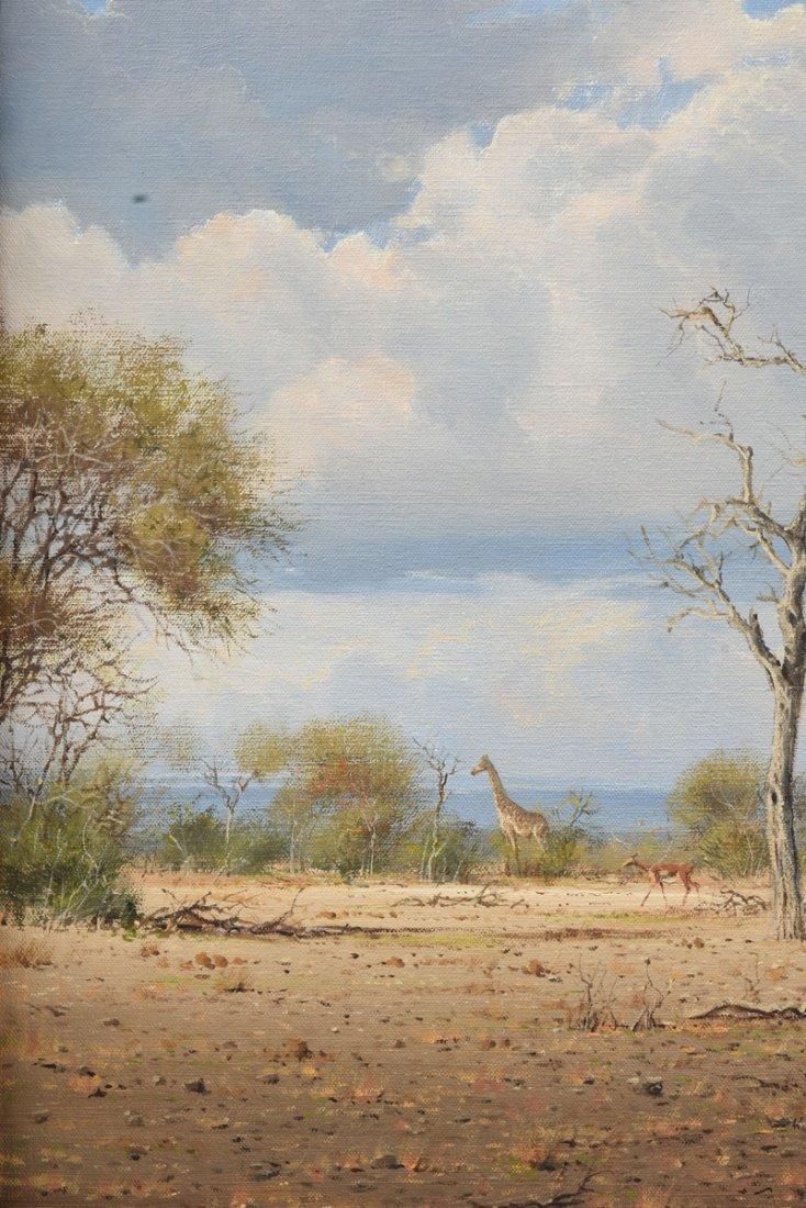 """JOHANN KOCH (South African b. 1948) A PAINTING, """"First - 5"""