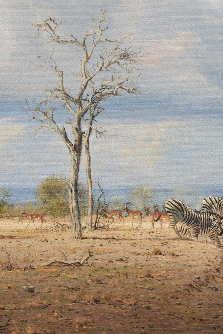 """JOHANN KOCH (South African b. 1948) A PAINTING, """"First - 6"""