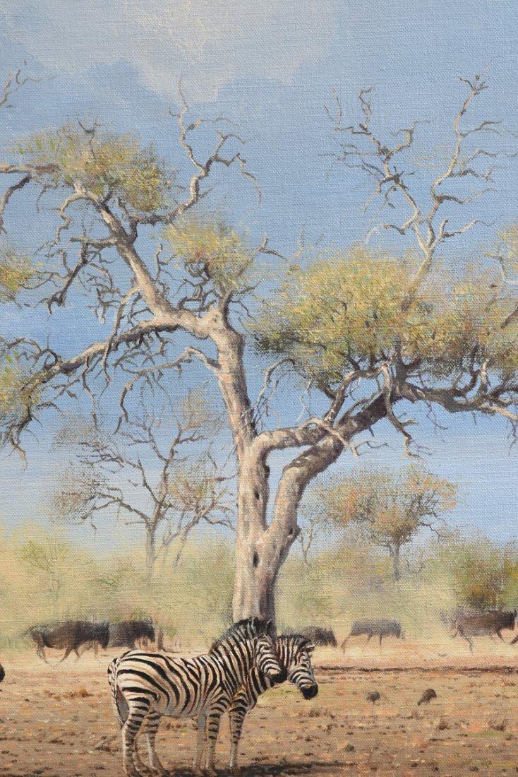 """JOHANN KOCH (South African b. 1948) A PAINTING, """"First - 9"""
