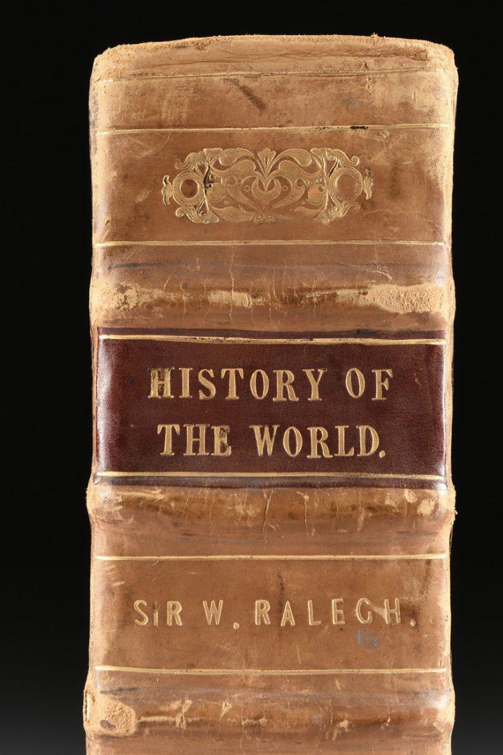 "RALEIGH, SIR WALTER (154-1618), ""THE HISTORY OF THE - 5"