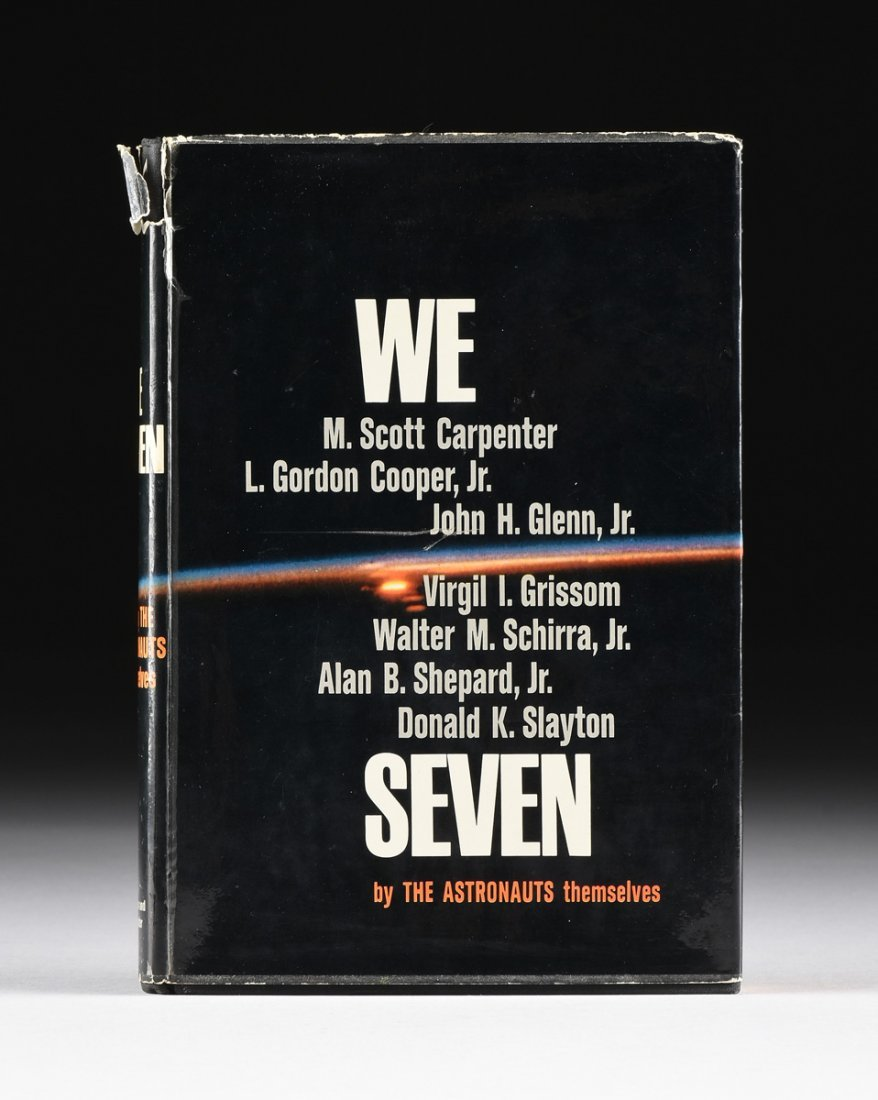 "THE MERCURY SEVEN ASTRONAUTS, A BOOK, ""We Seven,"""