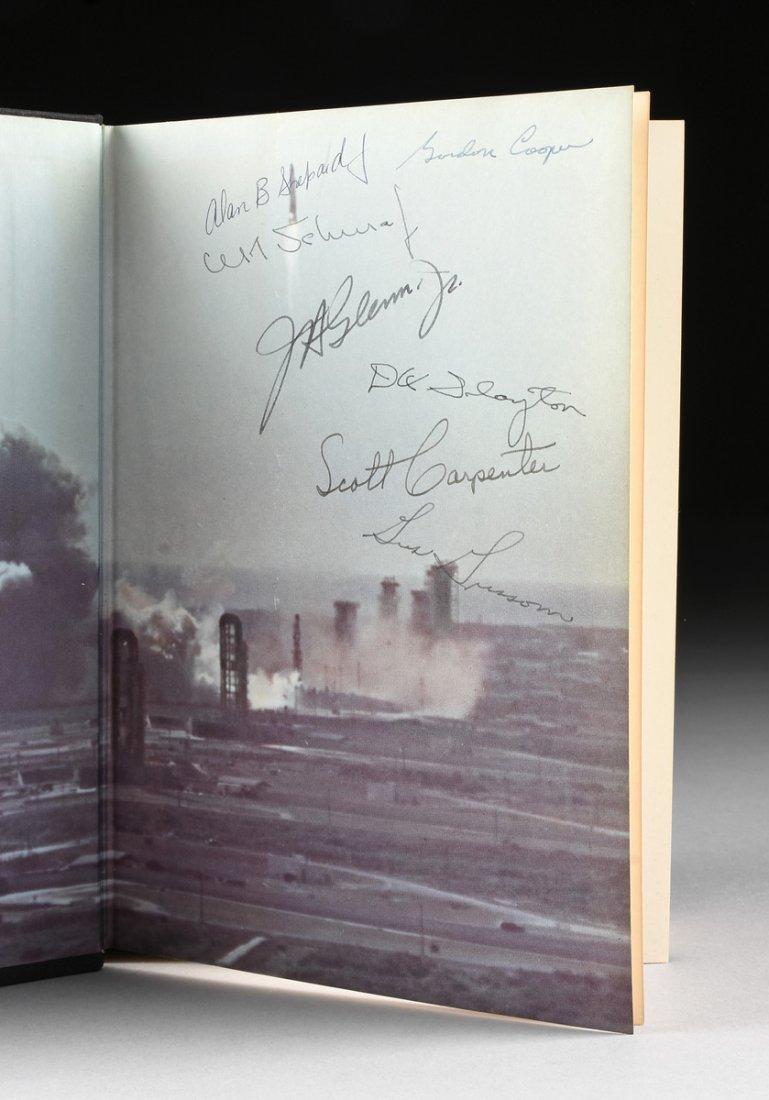 "THE MERCURY SEVEN ASTRONAUTS, A BOOK, ""We Seven,"" - 2"