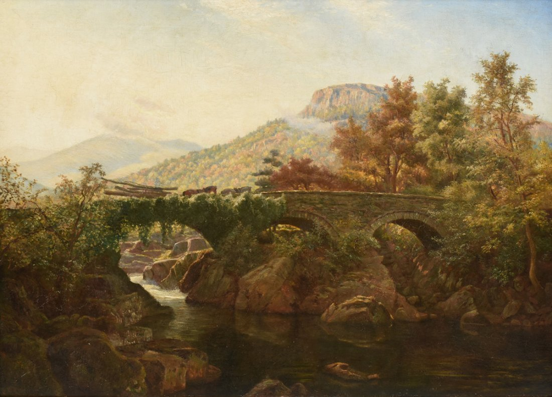 THOMAS CRESWICK (British 1811-1869) A PAINTING,
