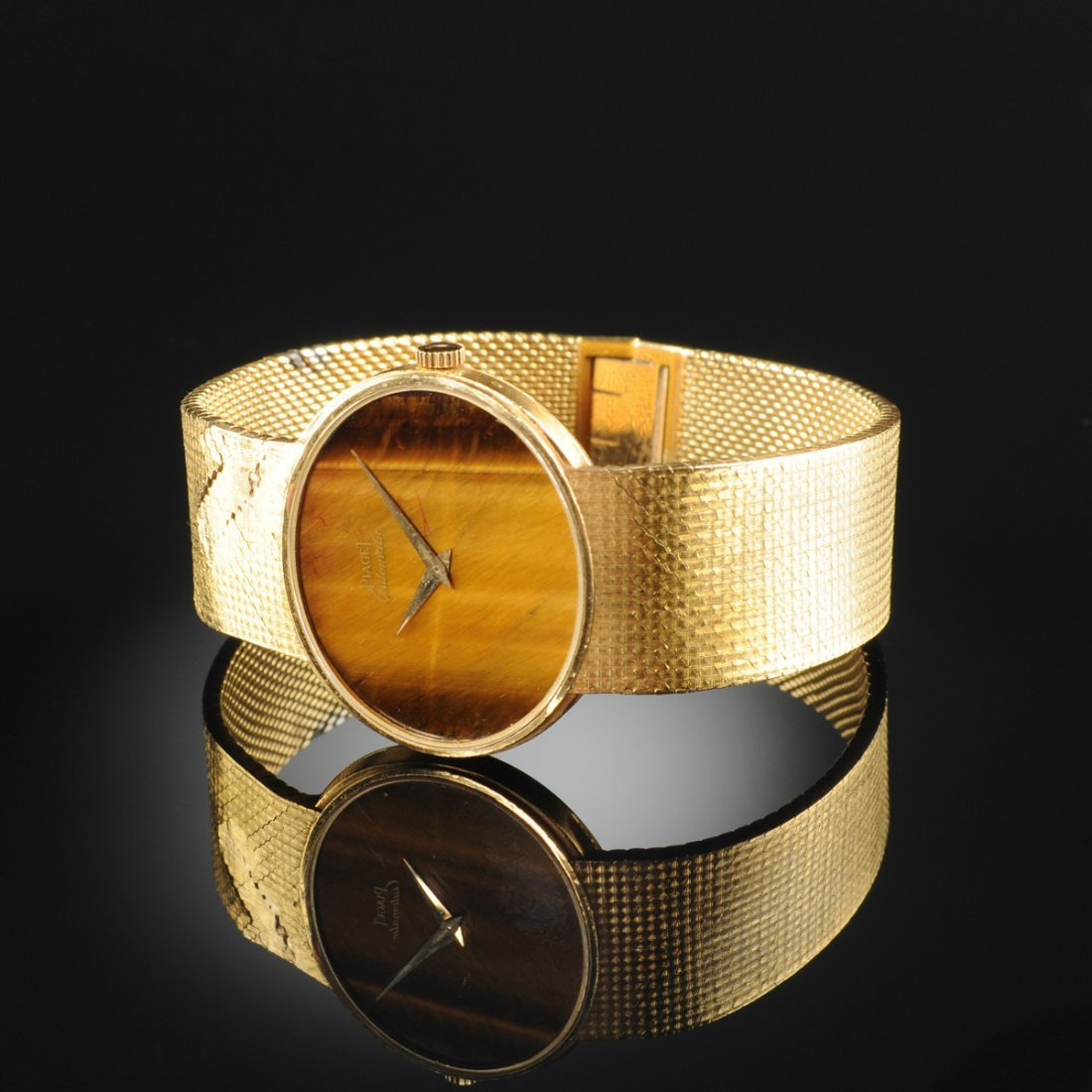 AN 18K YELLOW GOLD PIAGET GENT'S WATCH,