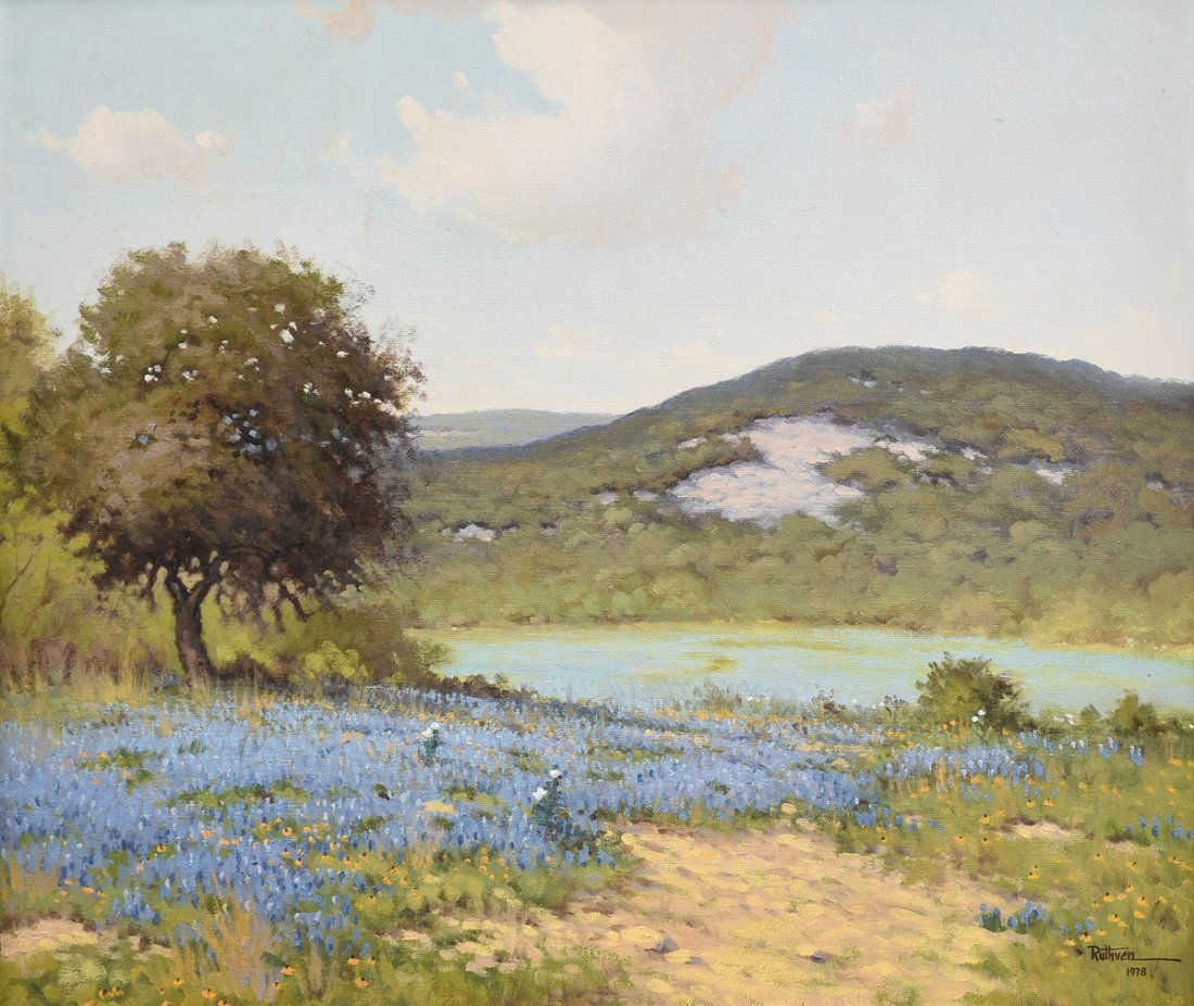 JERRY RUTHVEN (American/Texas b.1947) A PAINTING,