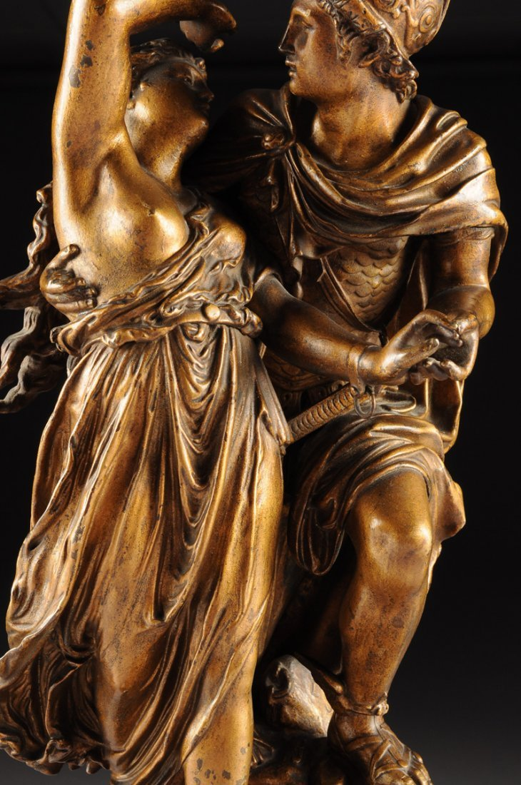 cast from a model by JEAN LOUIS GREGOIRE (FRENCH - 9