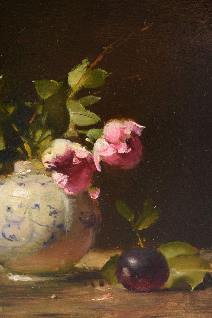 "DAVID A. LEFFEL (American b.1931) A PAINTING, ""Tea - 4"