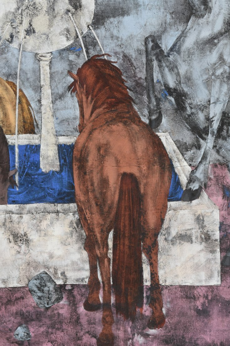 FELIX VARLAMISHVILI (Georgian 1903-1986) A PAINTING, - 9