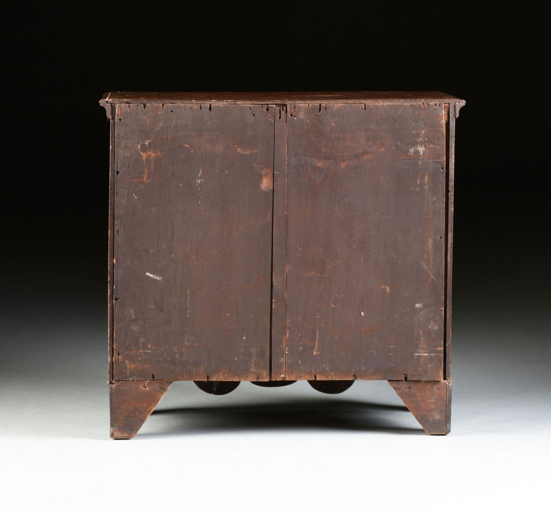 A FEDERAL MAHOGANY CHILD'S CHEST OF DRAWERS, POSSIBLY - 10