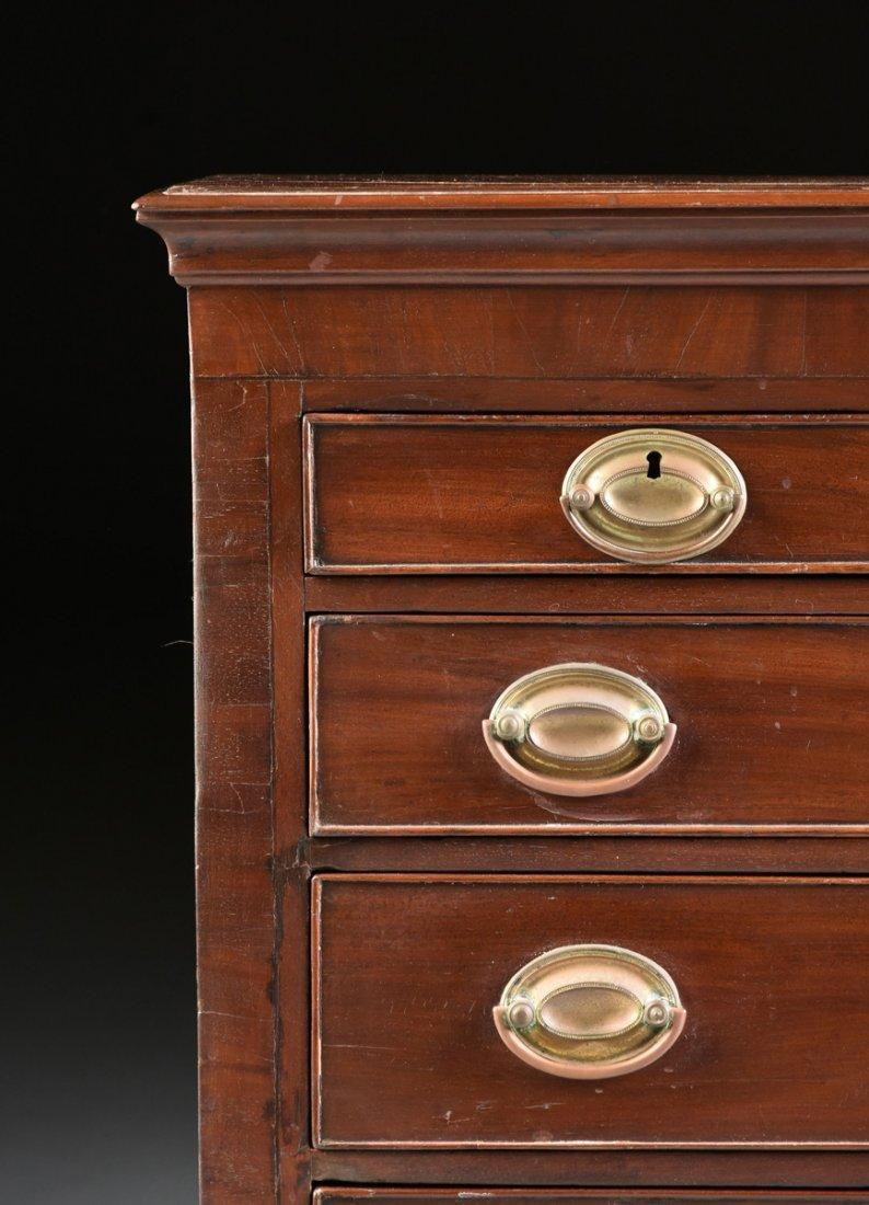 A FEDERAL MAHOGANY CHILD'S CHEST OF DRAWERS, POSSIBLY - 2