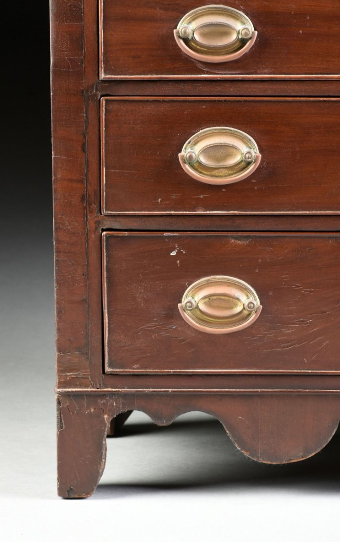 A FEDERAL MAHOGANY CHILD'S CHEST OF DRAWERS, POSSIBLY - 3