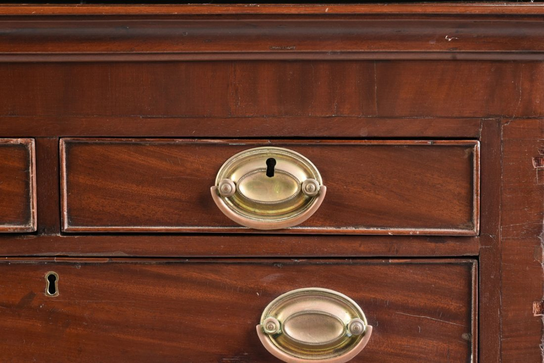 A FEDERAL MAHOGANY CHILD'S CHEST OF DRAWERS, POSSIBLY - 5