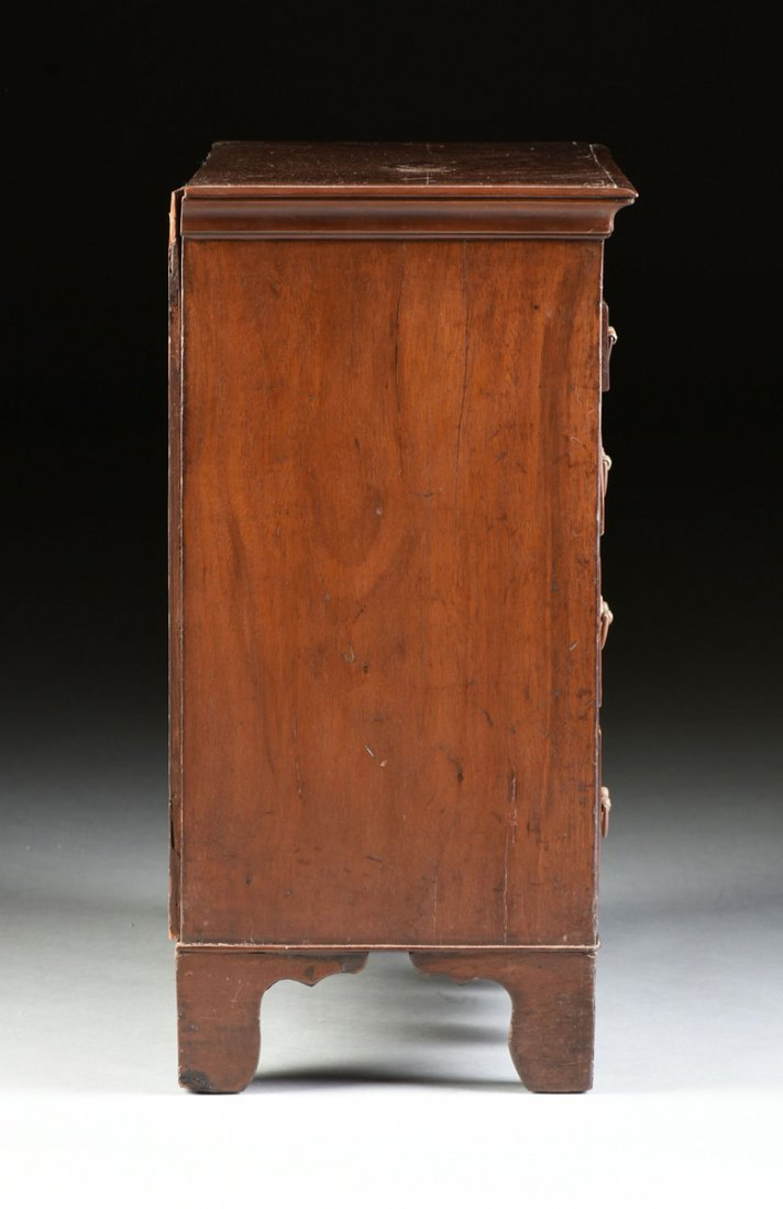 A FEDERAL MAHOGANY CHILD'S CHEST OF DRAWERS, POSSIBLY - 9
