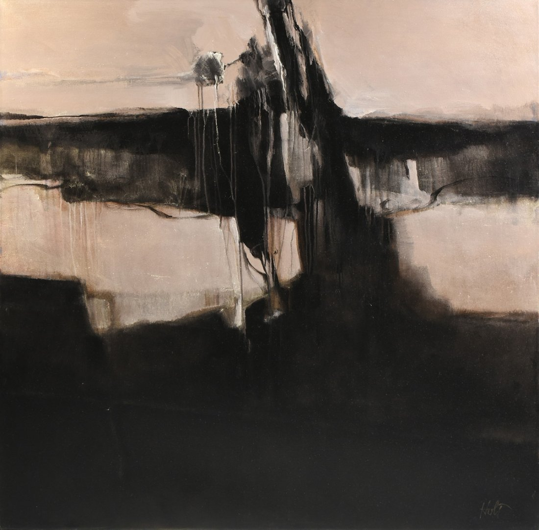 CAROLE HOLT (American/Texas 21st Century) A PAINTING,