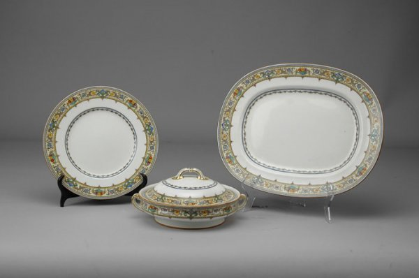 20: A THIRTY-THREE PIECE MINTON DINNER service in the P