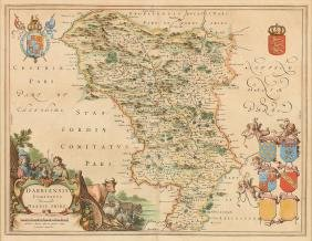(WILLEM AND JOHAN) BLAEU (Dutch 1596 - 1673) A HAND