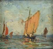 OSCAR ANDERSON (Swedish 1873-1953) A PAINTING,